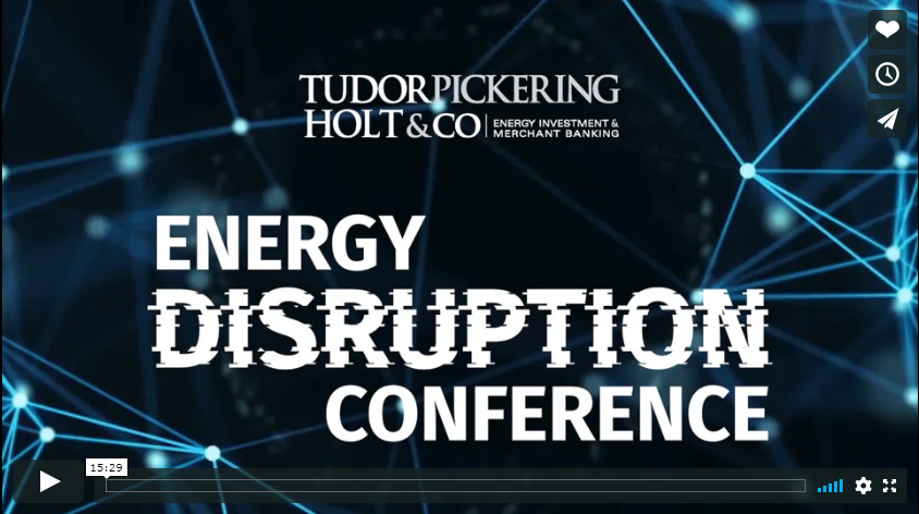 Energy Disruption Conference