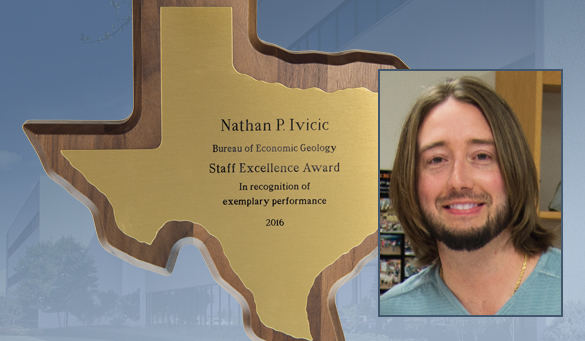 Nathan Ivicic Wins Staff Excellence Award