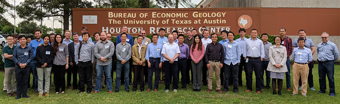 Texas Consortium for Computational Seismology (TCCS) group photo