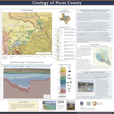 Geology of Pecos County