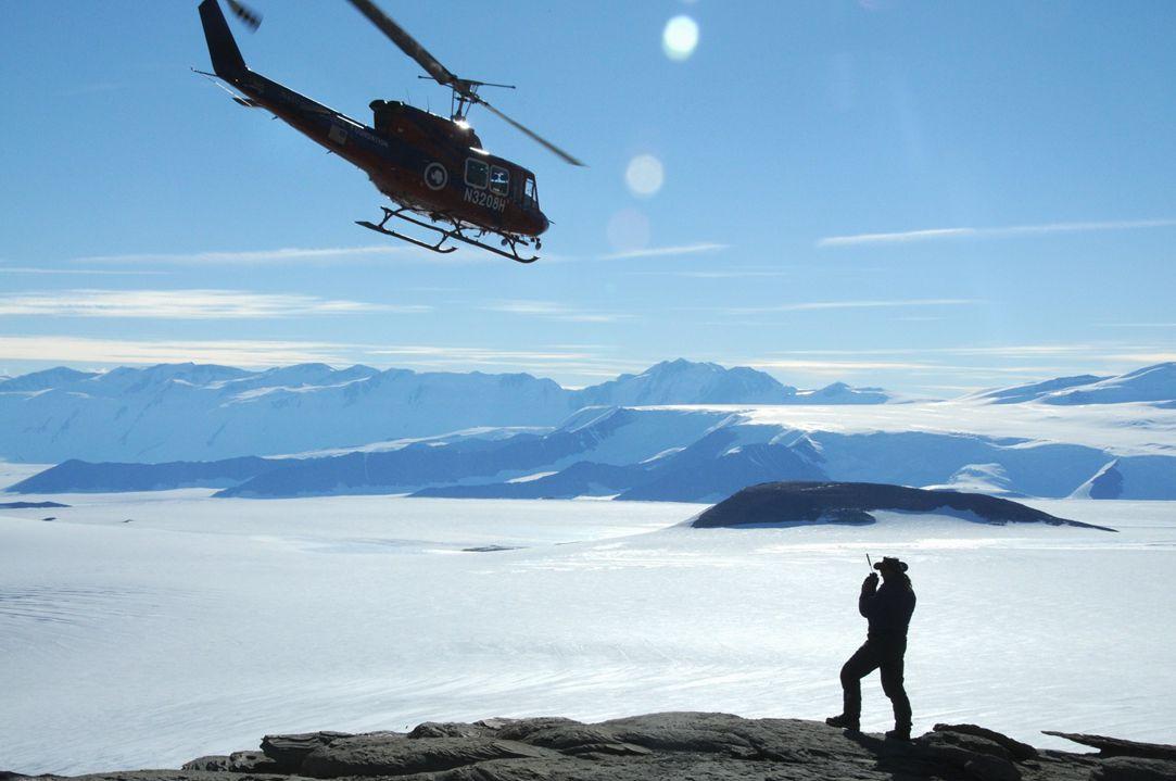 Antarctica research site