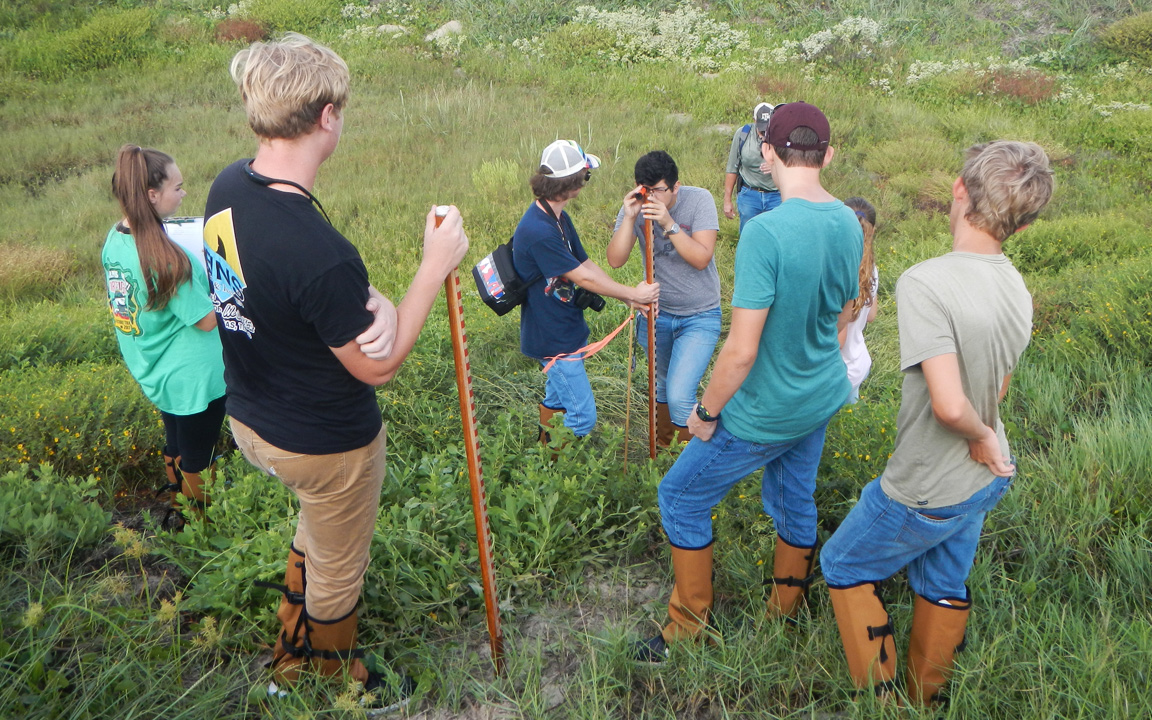 Texas High School Coastal Monitoring Program