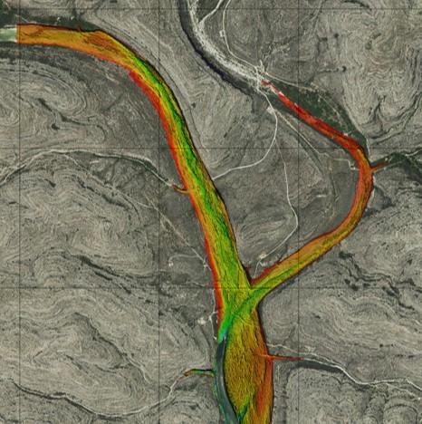 Devils River Lidar