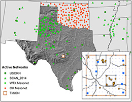 Texas Soil Observation Network (TxSON)