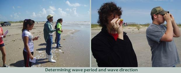 Determining wave period
