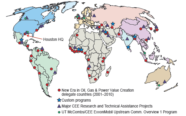 CEE World Map