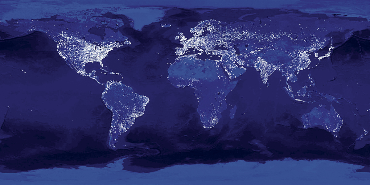 lights of earth
