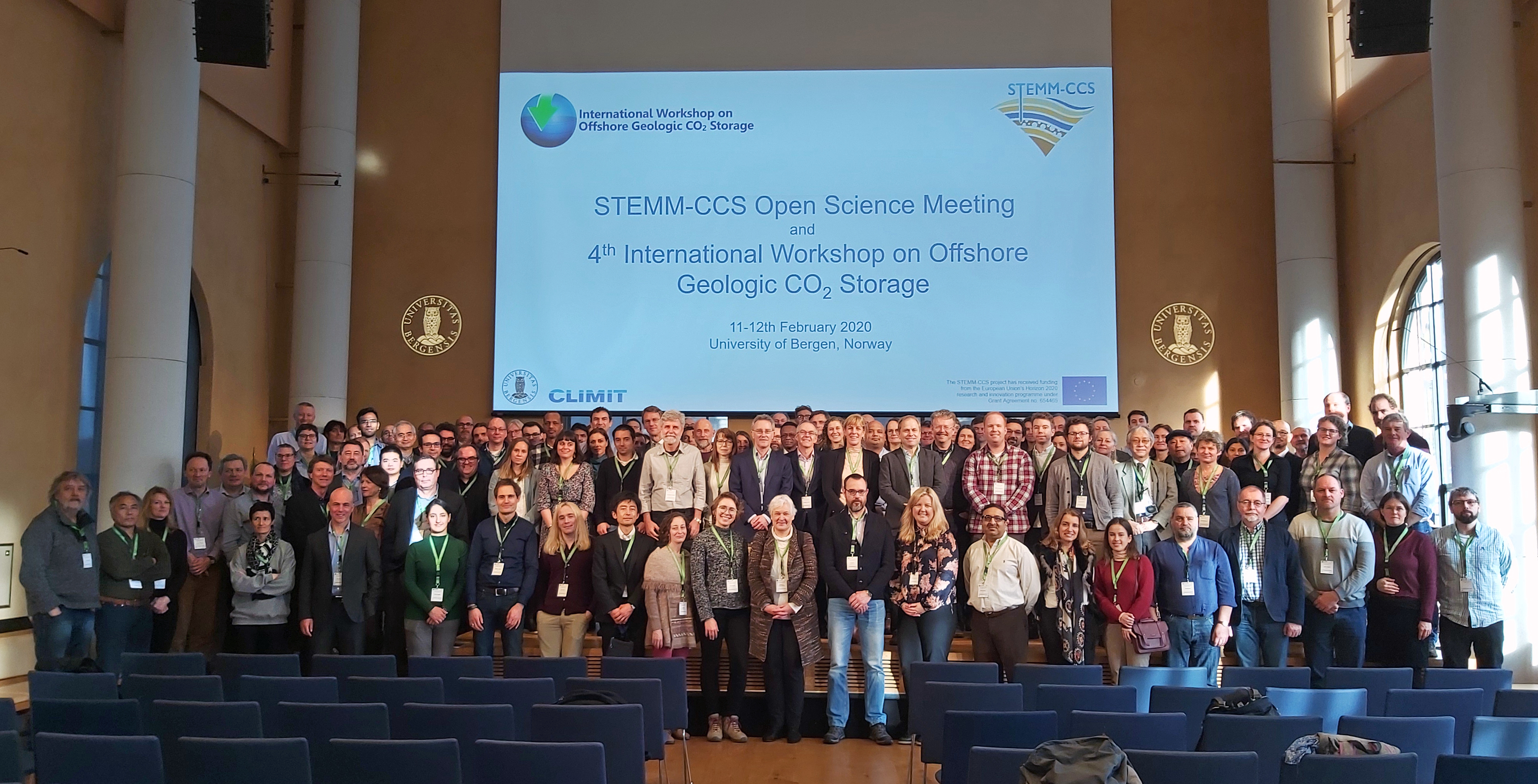 group photo of the 4th international workshop