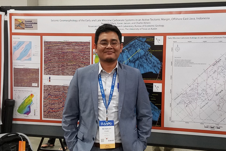 Fifariz presenting at the AAPG 2018 ACE