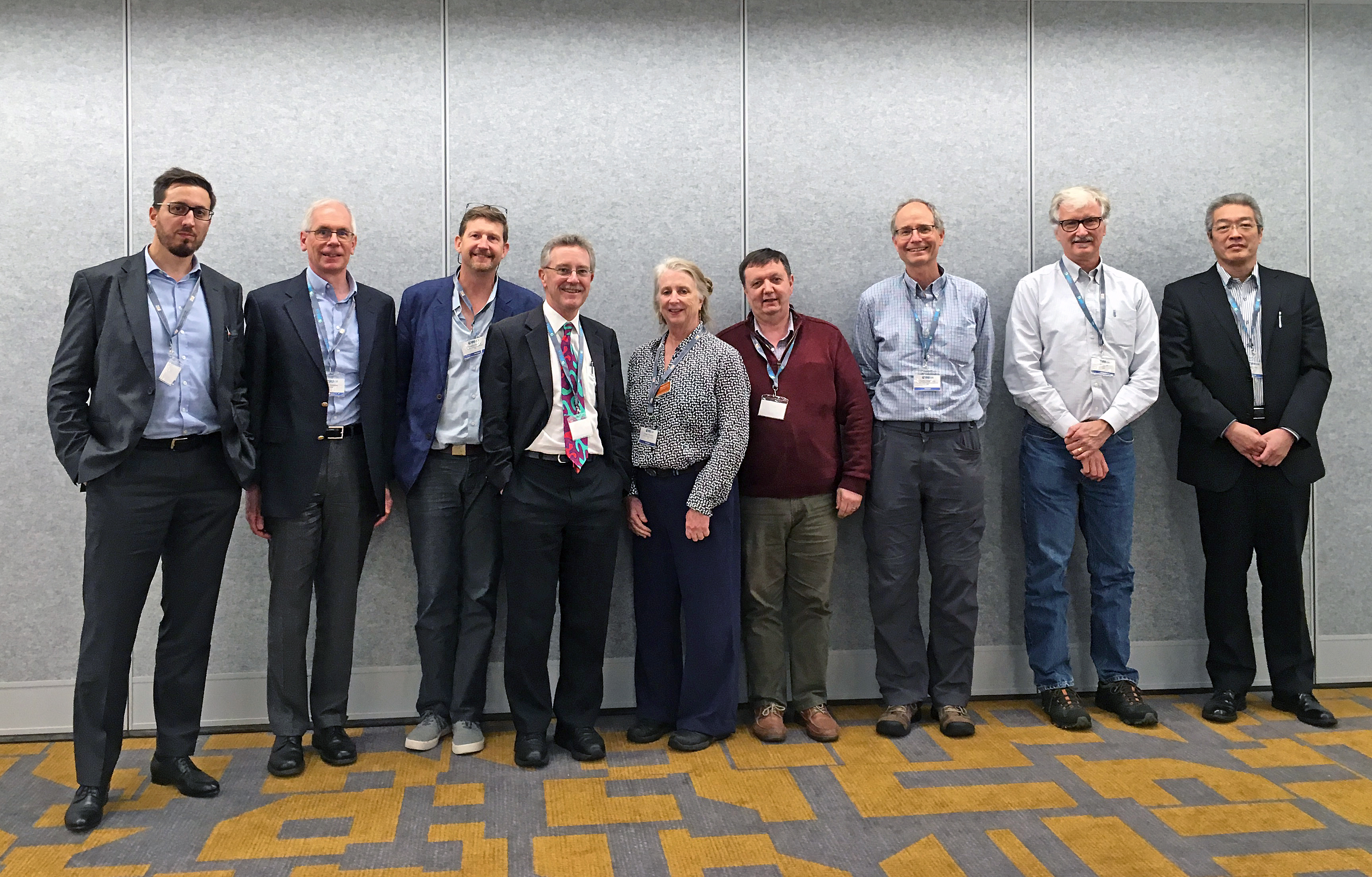 The GoMCarb advisory committee met at the annual GHGT-14 conference in Melbourne, Australia