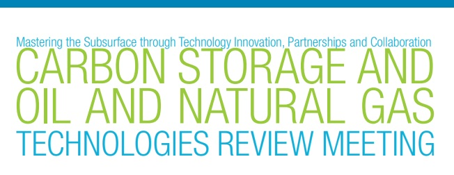 National Energy Technology Laboratory's Technologies Review Meeting flyer