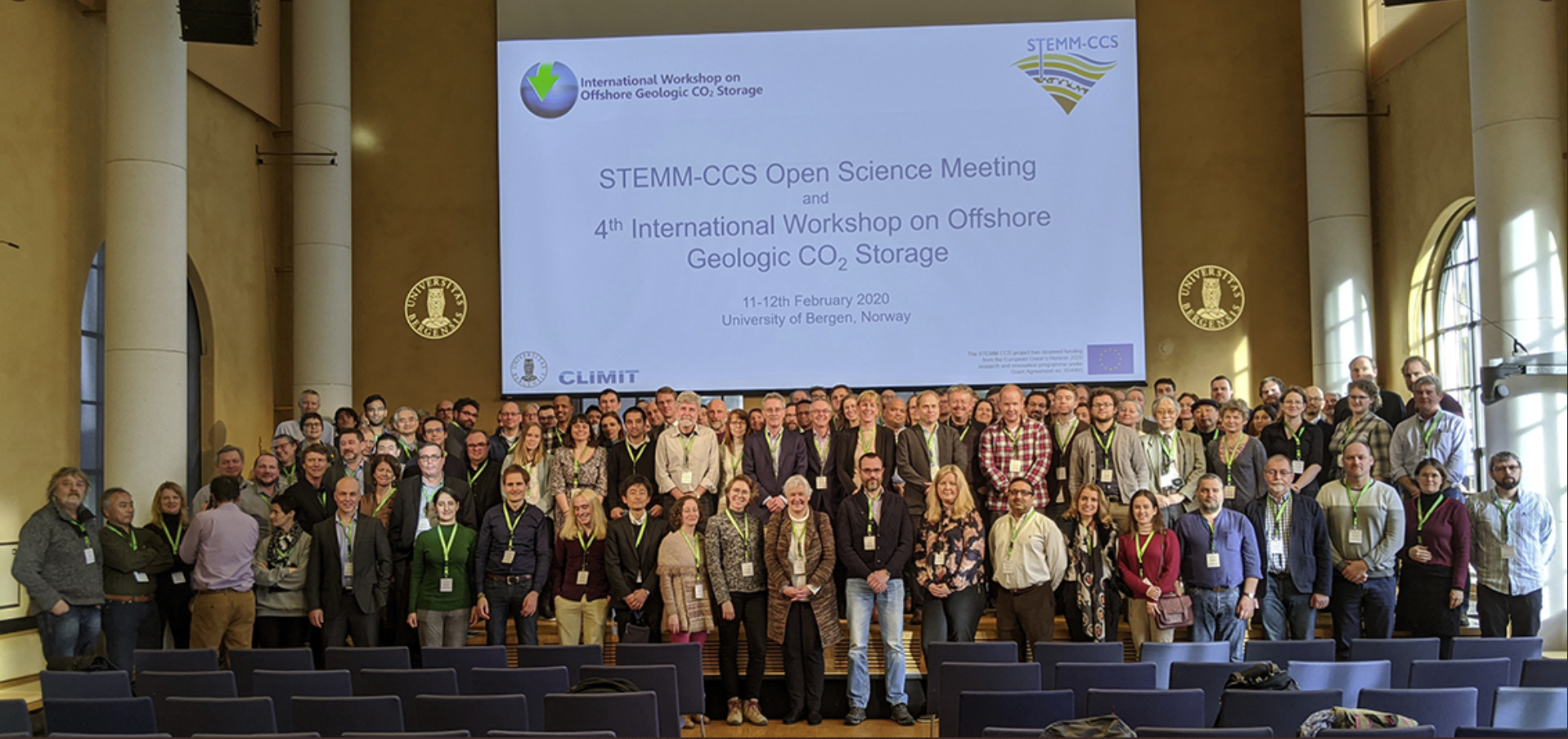photo of all participants, around 150, at the stem-ccs conference