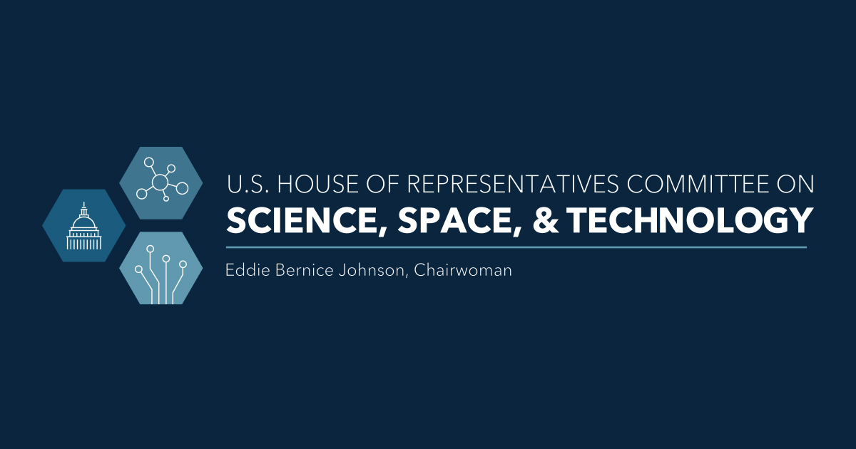 us house of reps science, space, and technology committee logo