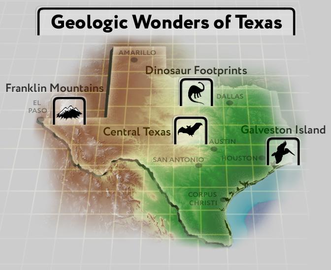 Geologic Wonders of Texas