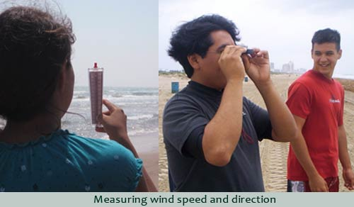 Determining wind speed