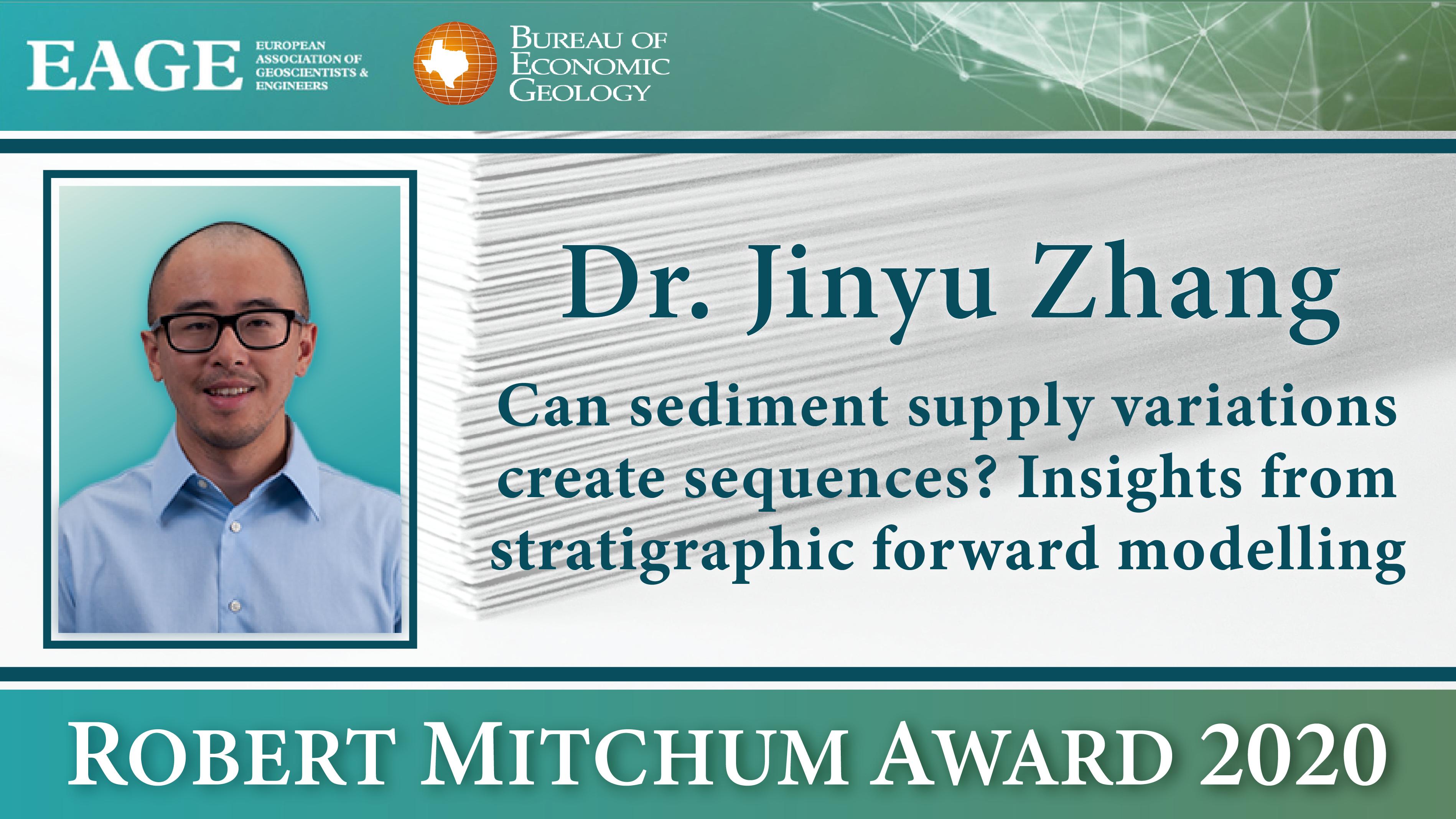 Jinyu Zhang 2020 EAGE award