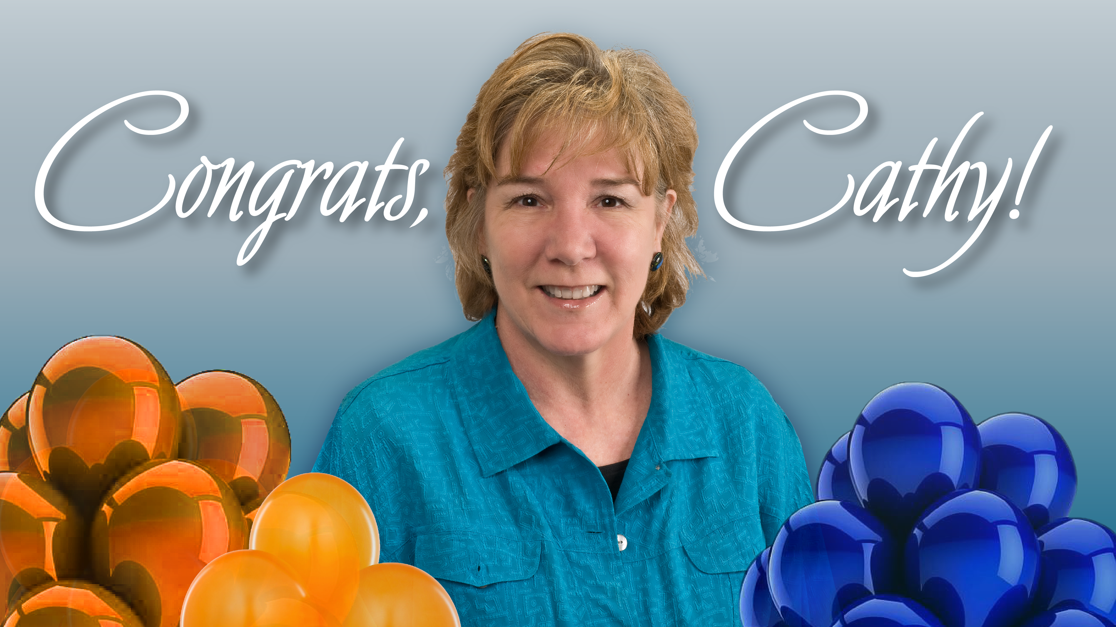Congrats Cathy Brown