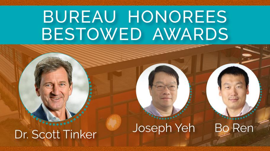 Trio of Bureau Honorees Bestowed Awards